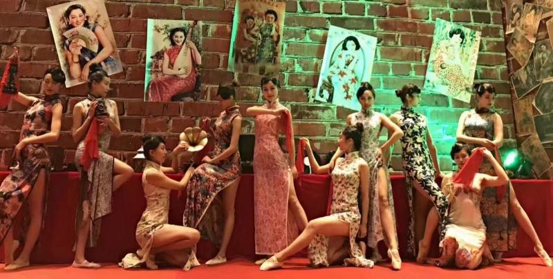 旗袍风情舞
